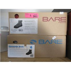 3 Pairs of New Bare Fishing Boots