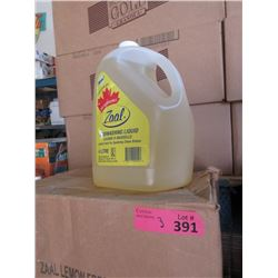 3 Cases of Zaal Lemon Fresh Dishwashing Liquid