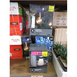 7 Assorted String Light Sets - Store Returns