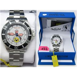 "Men's New Invicta ""Popeye"" Character Watch"