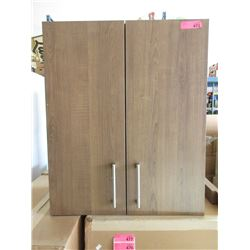 New 2 Door Laminate Cabinet with Soft Close Hinges