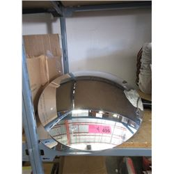 "4 Convex Security Mirrors - 17"" Diameter"