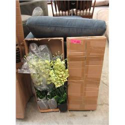 """2 Cases of 6 New 24"""" Artificial Flowers"""