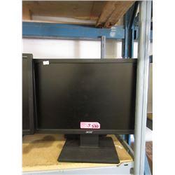 "Three 19"" Acer Monitors - Untested"