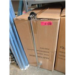"Case of 25 New 24"" Towel Bars"
