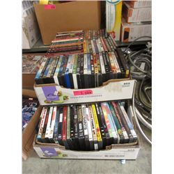 2 Cases of DVD Movies
