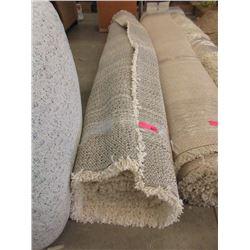 Ivory Shag Area Carpet - 7 x 10 Feet -Store Return