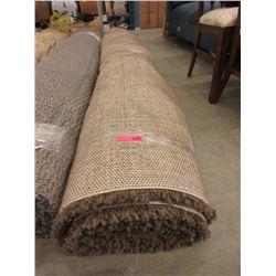 Brown Shag Area Carpet - 7 x 10 Feet -Store Return