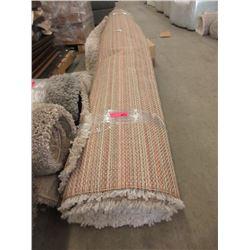 Ivory Shag Area Carpet - 8 x 10 Feet -Store Return