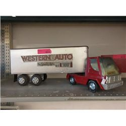 "1960s Nylint 23"" Western Auto Transport Truck"