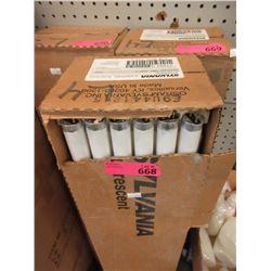 Case of 30 New T8 Fluorescent Bulbs-  32 Watt