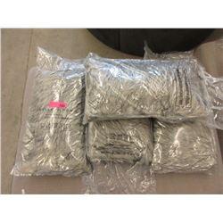 """4 New Fun Fur Lumbar Cushions - 12"""" x 20"""""""