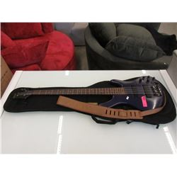 Electric Base Guitar with Soft Case