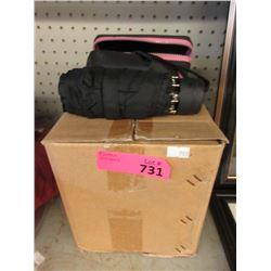 Case of 12 New Black Umbrellas with Cases