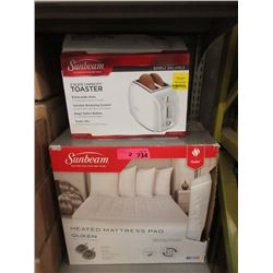 Queen Heated Mattress Pad & Toaster - Store Return