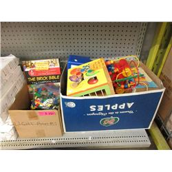 2 Boxes of Assorted Children's Toys