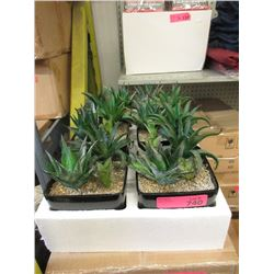 Case of 6 New Artificial Plants in Pots