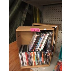 2 Boxes of DVD Movies