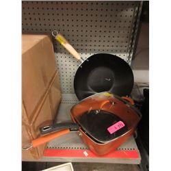 Wok, Fry Pan & Deep Skillet - Store Returns