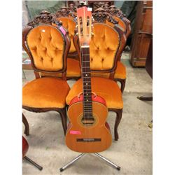 Suzuki Acoustic Guitar - Stand Not Included