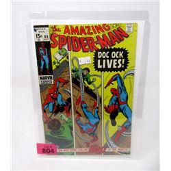 "1963 ""Spider-Man #89"" 15¢ Marvel Comic"