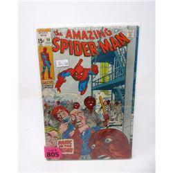 "1963 ""Spider-Man #99"" 15¢ Marvel Comic"