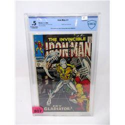 "Graded 1968 ""Iron Man #7"" 12¢ Marvel Comic"