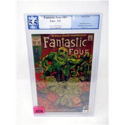 "Graded 1969 ""Fantastic Four #85"" 12¢ Marvel Comic"