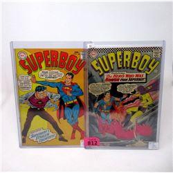 "Two 1960's ""Superboy"" 12¢  DC Comics"