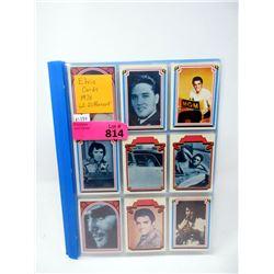 62 Different 1978 Elvis Presley Trading Cards