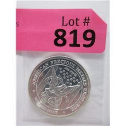 """1 Oz. .999 Fine Silver """"American Eagle"""" Round"""