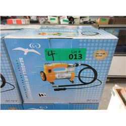 4 New Seagull 12volt Air Compressors