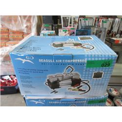 New 12 Volt Seagull 140 psi Air Compressor