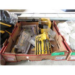 Box of DeWalt Wood Bits