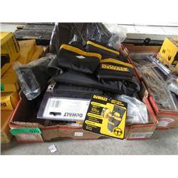 Box of DeWalt Tool Belts