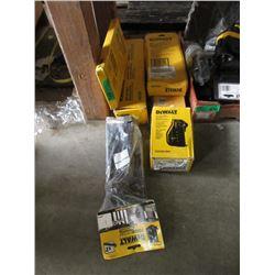 6 Assorted DeWalt Tools