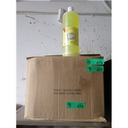 3 Cases of Lemon Scent Dishwashing Hand Soap