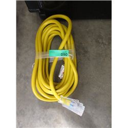 New 25 Ft. Heavy Duty Triple Outlet Extension Cord