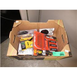 Box of New Assorted Tools
