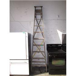 10 Foot Wood Step Ladder