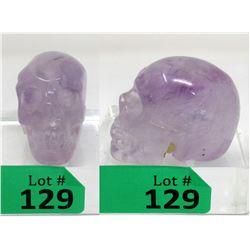 685.5 CT Carved Amethyst 3D Skull