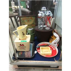 Vintage Bar Ware, Trays and more