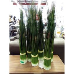"6 New 36"" Tall Artificial Grasses - 5"" Diameter"