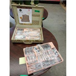 New Carl Weill 78 Piece Stainless Steel Cutlery Set