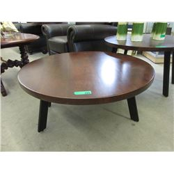New Wood Top Coffee Table with Metal Frame