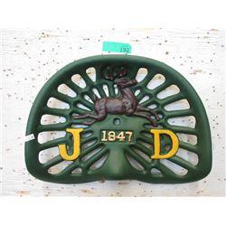 Cast Iron John Deere Tractor Seat