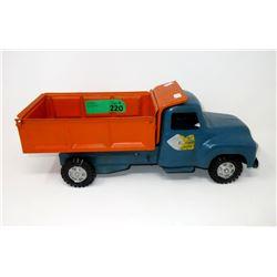 1950s Buddy L. Sand & Stone Tilt Dump Truck