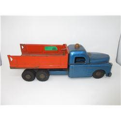1950s Emergency Road Repair Tilt Dump Truck