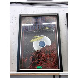 "Framed Foo Fighters Poster - 289"" x 39"" Framed"