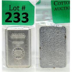 100 Gram Geiger Edelmetalle .999 Silver Bar